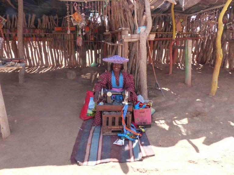 Hereo Tribeswoman, Swakopmund, Skeleton Coast, Africa