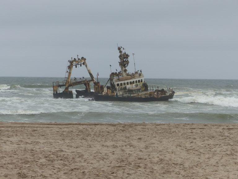 Shipwreck, Skeleton Coast