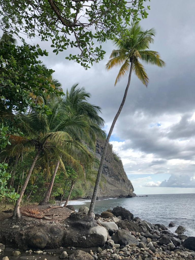 Hampstead Beach, Dominica, Pirates of the Caribbean was filmed here