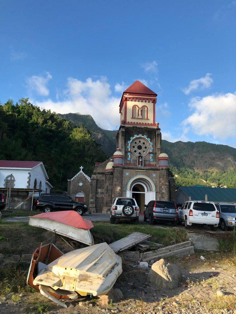 Soufriere Church, Dominica