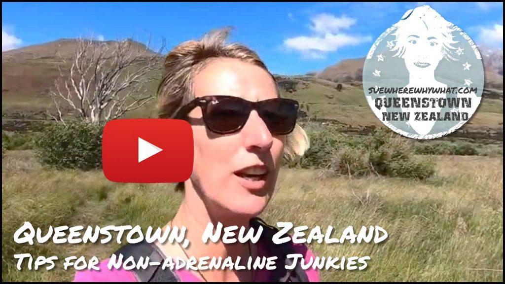 Queenstown in New Zealand - My tips for Non-adrenaline Junkies