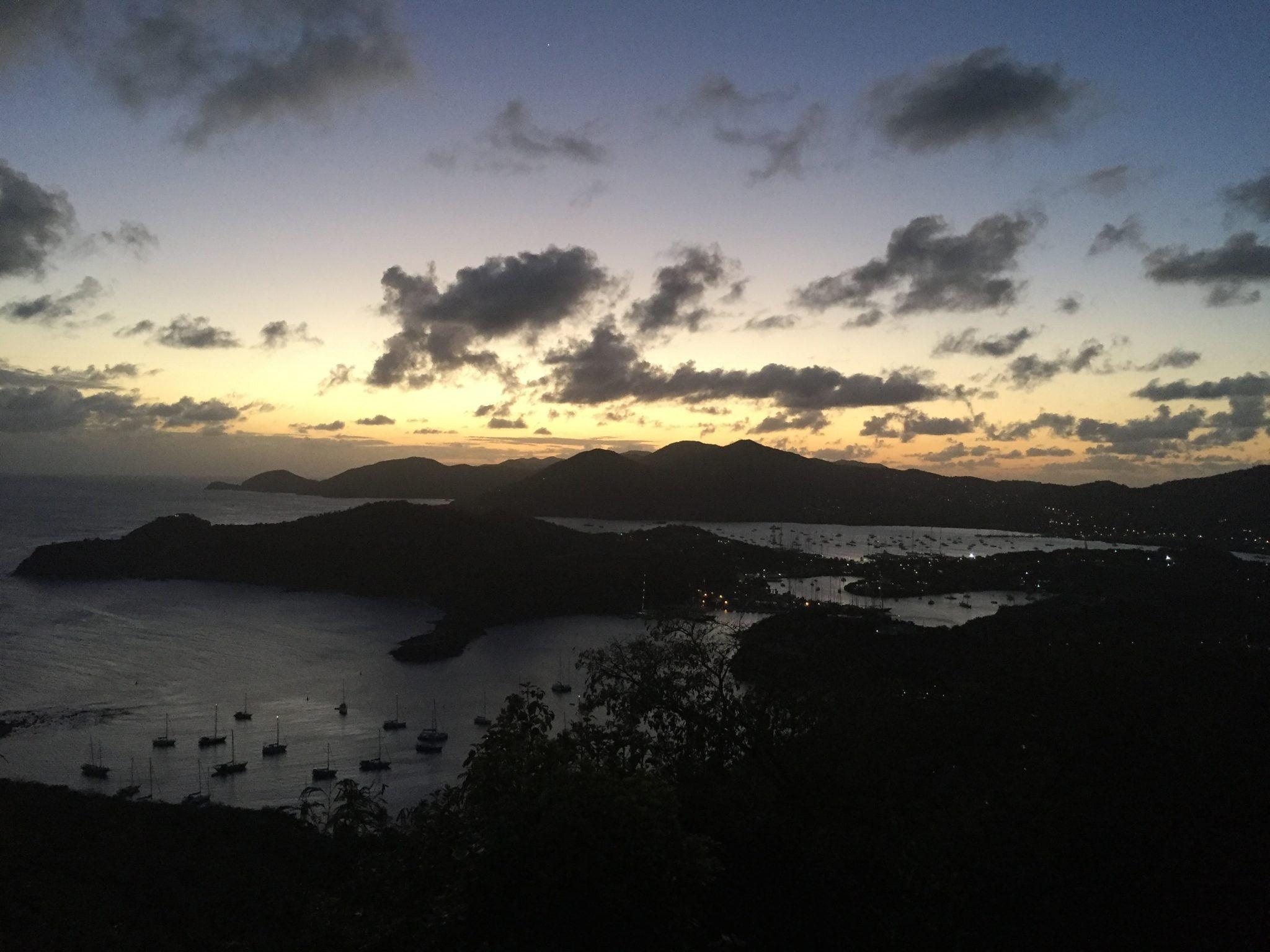Shirley Heights Sunday sunset, Antigua