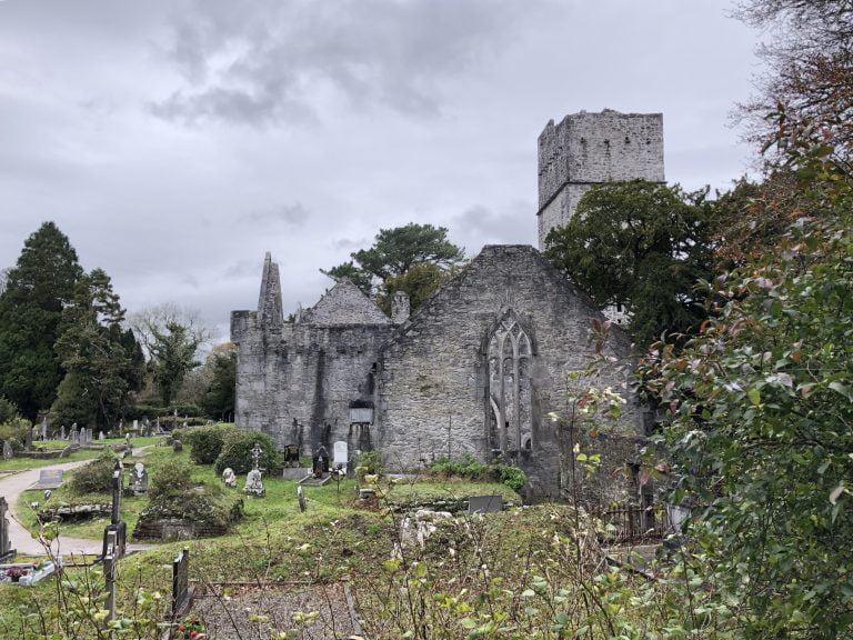 Muckross Abbey Killarney National Park, County Kerry, Ireland
