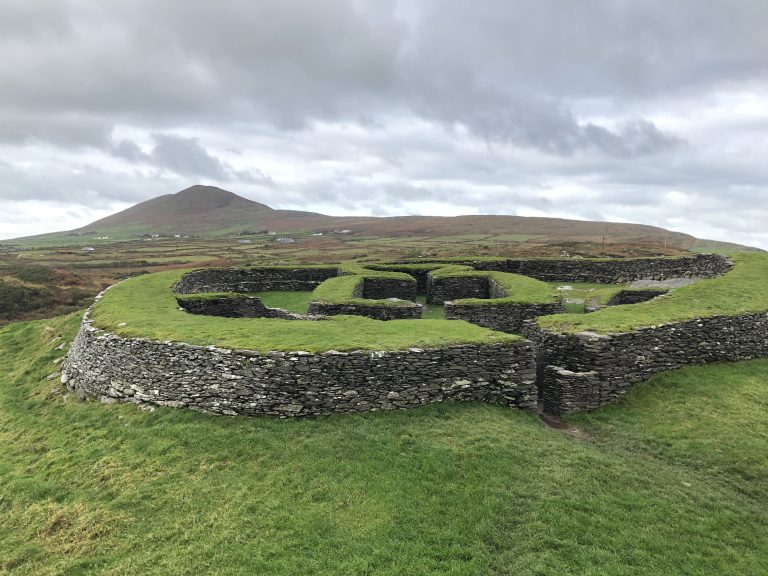 Cahergill & Leacanbuile stone forts, Ring of Kerry, Ireland