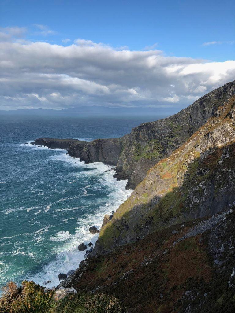 Valentia Fogher cliffs, Ring of Kerry Ireland