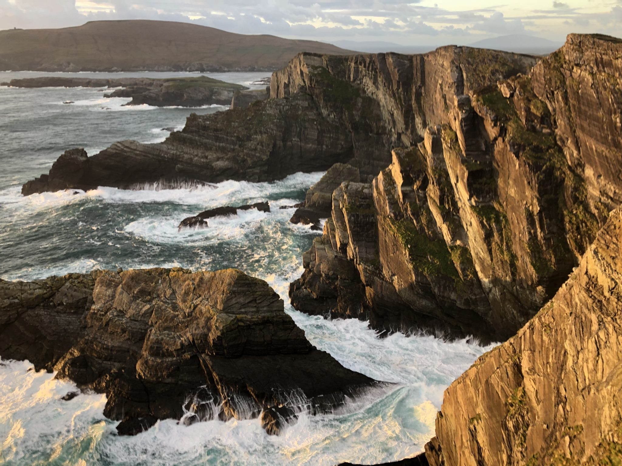 Kerry's most spectacular cliffs, Ring of Kerry, Ireland