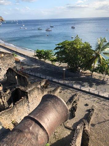 Canon, St Pierre, Martinique, Caribbean