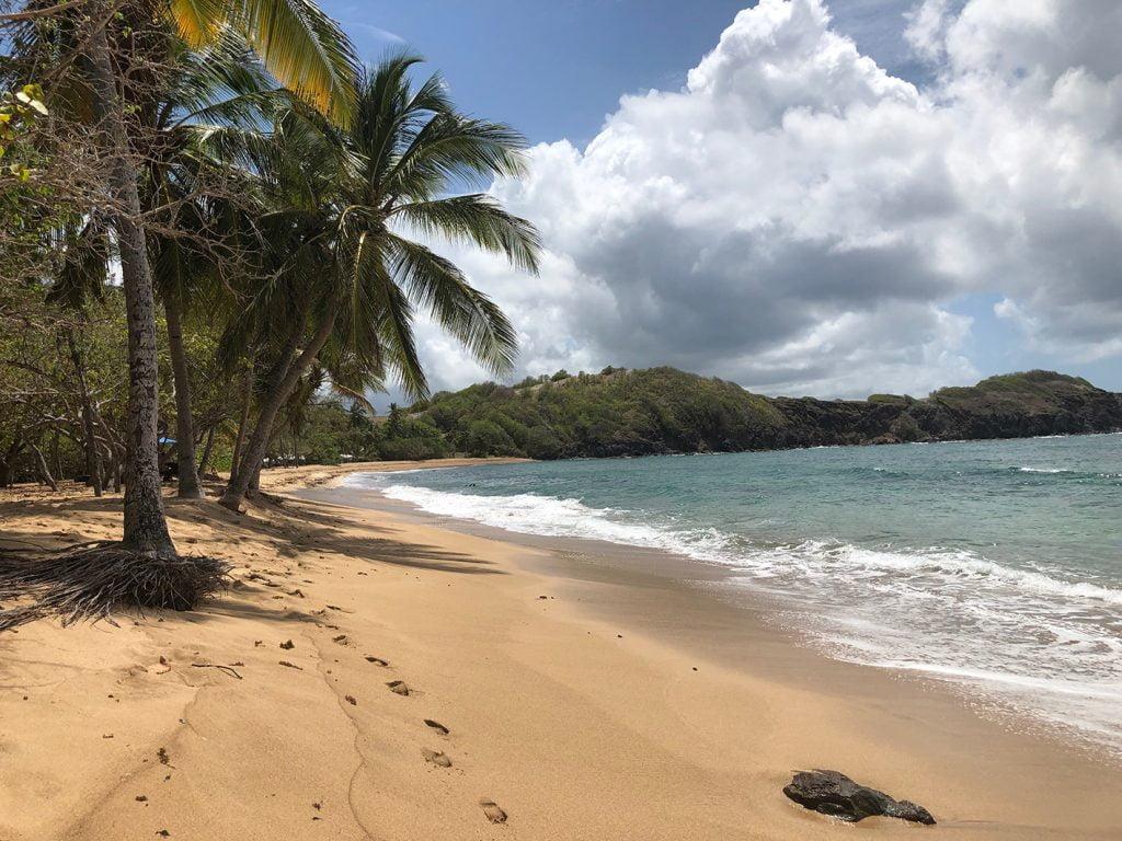Deserted Beach, Martinique, Caribbean