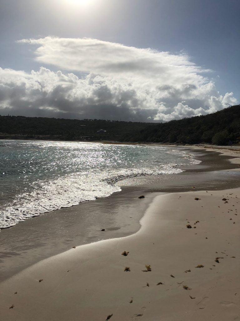 Sunset beach, Antigua