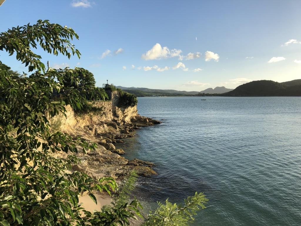 Rocky sea view, Antigua