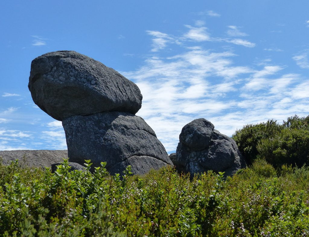 The giant boulders, Nancy Peak, Western Australia