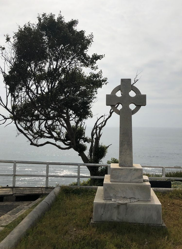 Graveyard on the Bondi beach to Coogee hike, Sydney, Australia