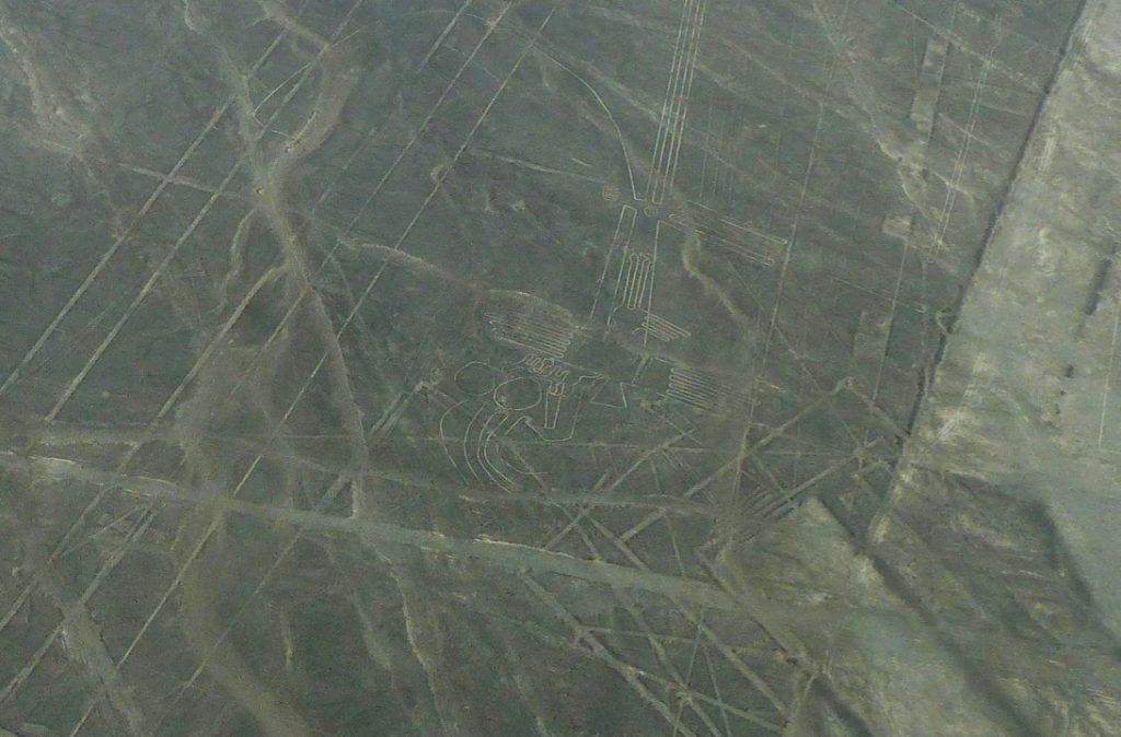 Nazca Lines from the air, Peru