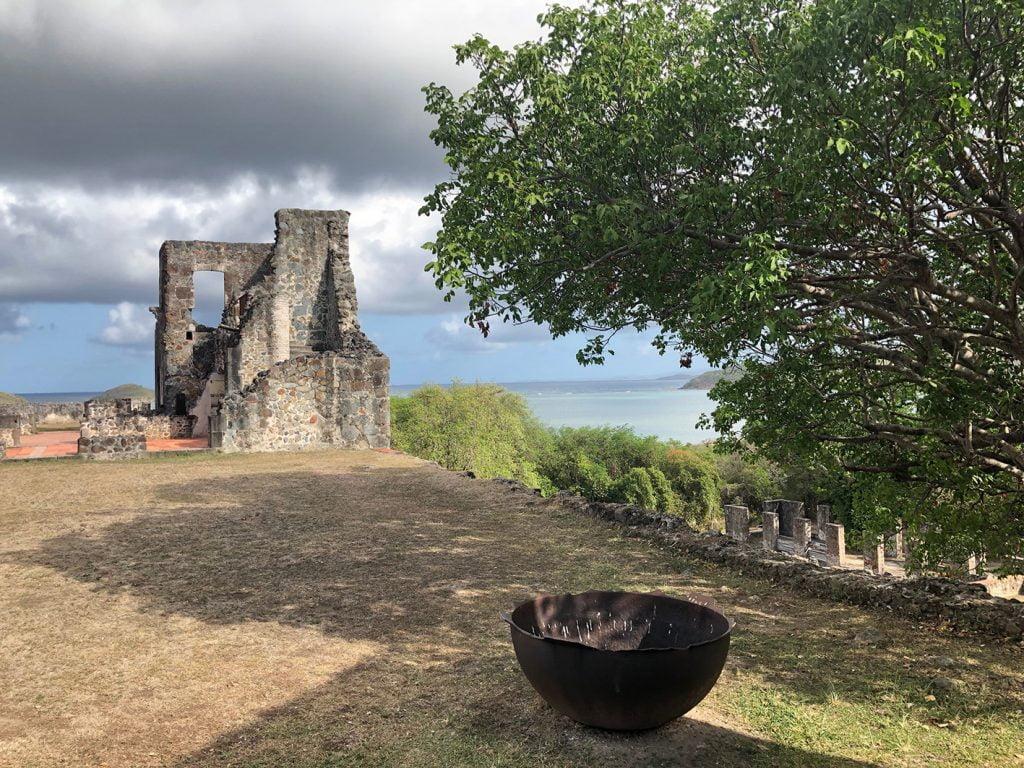 Plantation ruins, Martinique, Caribbean