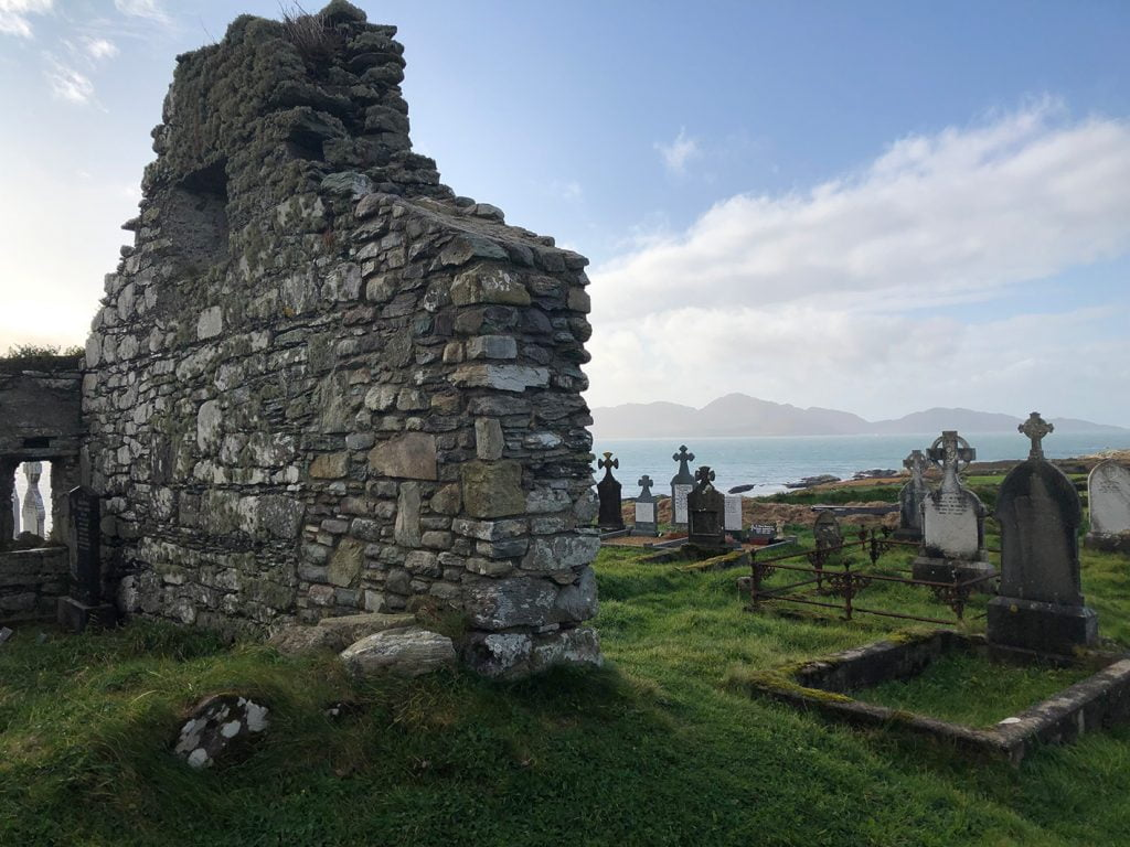 Cemetery, Ring of Kerry, Ireland