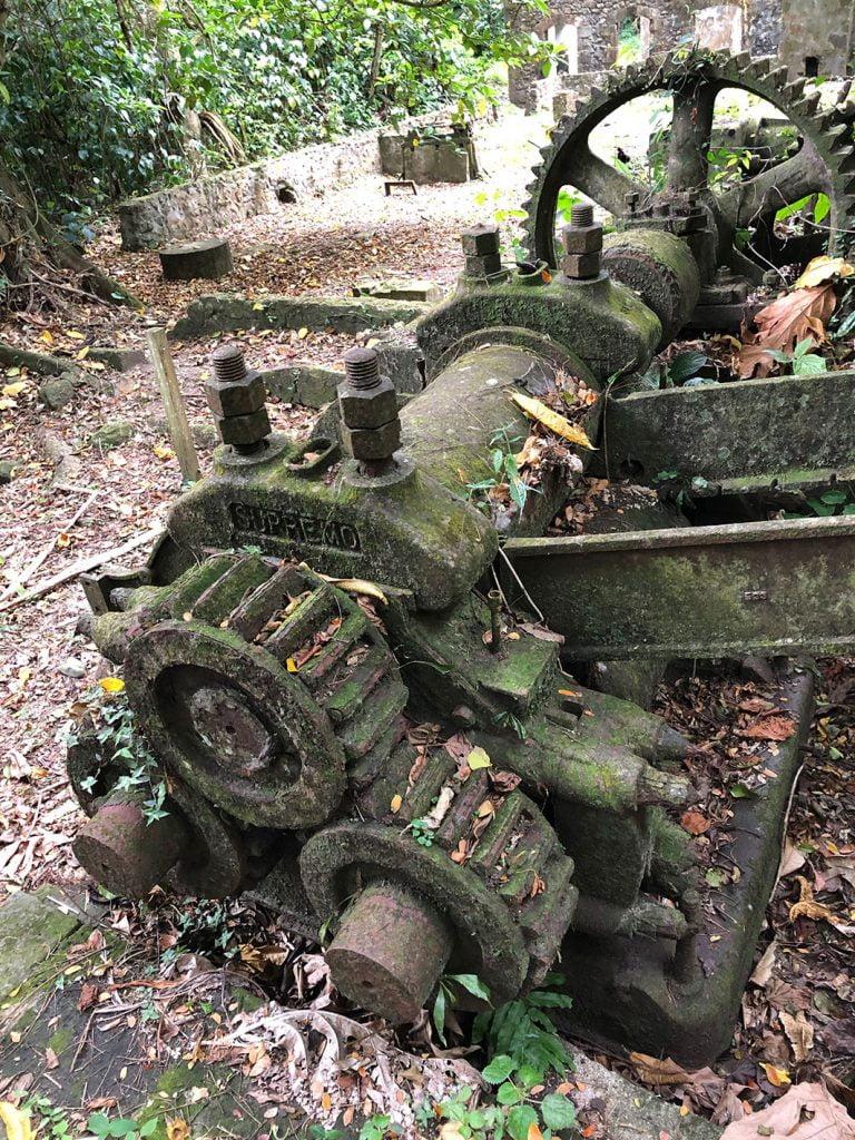 Ruins, Martinique, Caribbean