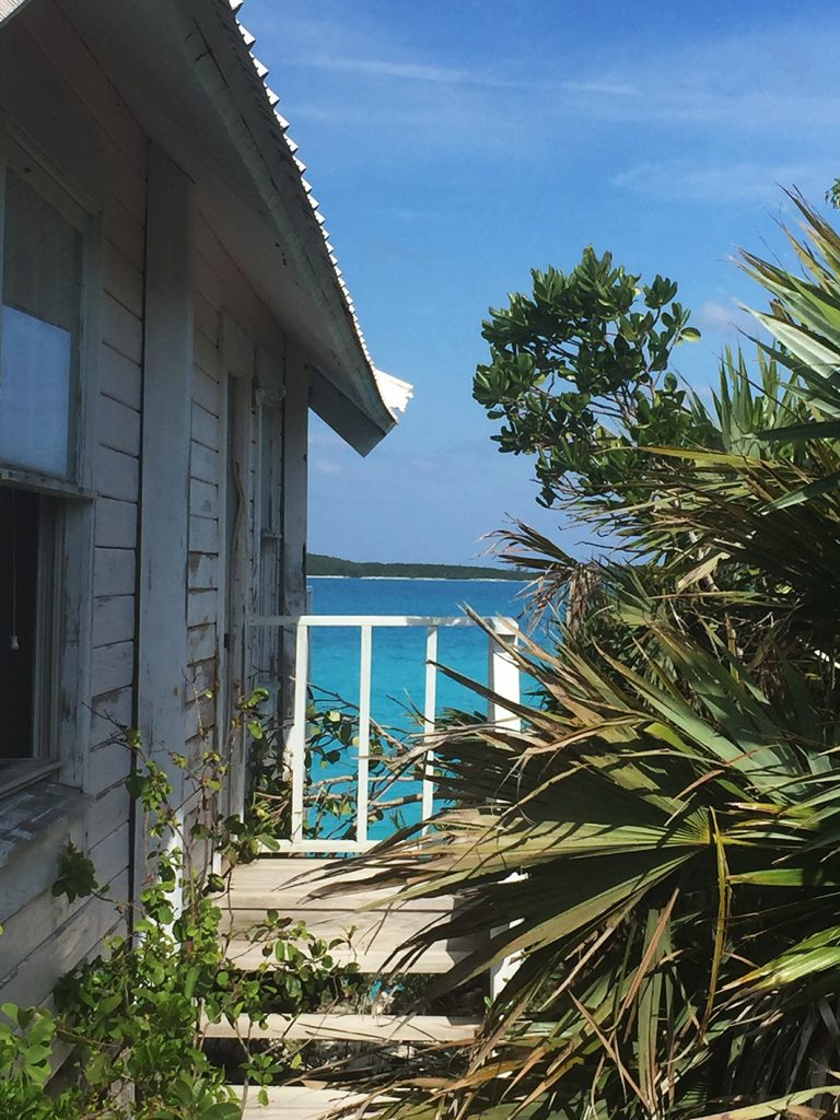 Shack and Sea View, The Bahamas, Caribbean