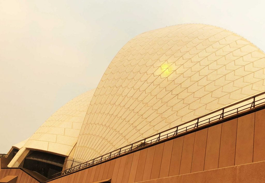 Dome of Sydney Opera House, Sydney, Australia