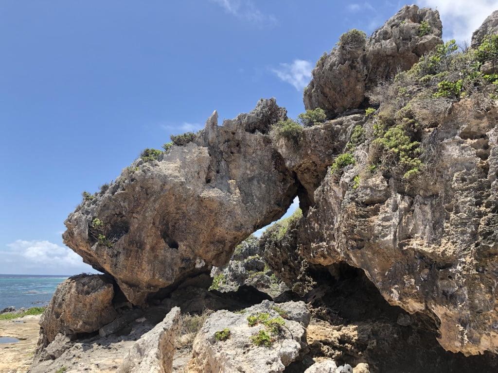 Two Foot Bay Rocks