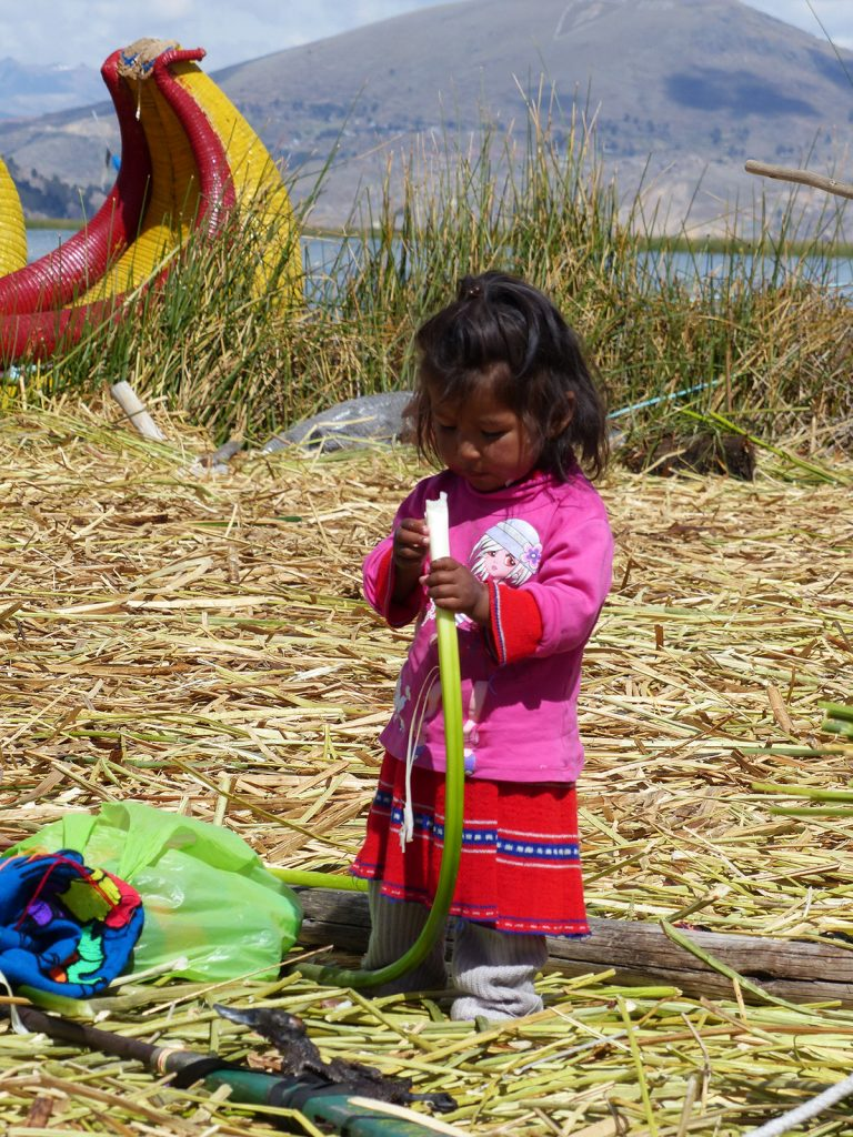 Uros, Reed Island, Lake Titicaca, Peru