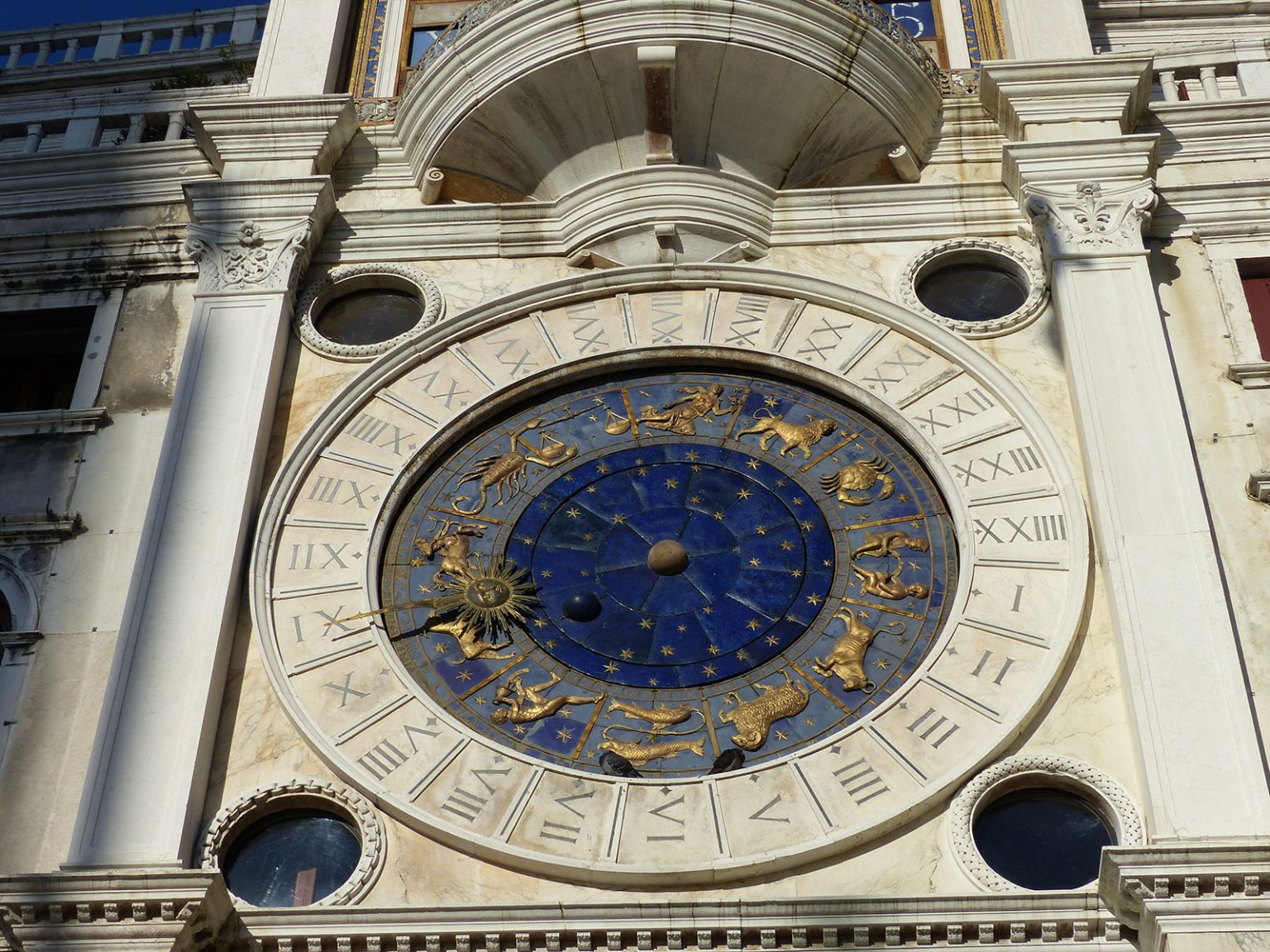 St.Marks Clock Tower, Venice, Italy