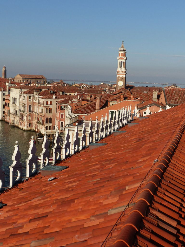 Roof tops of Venice, Italy