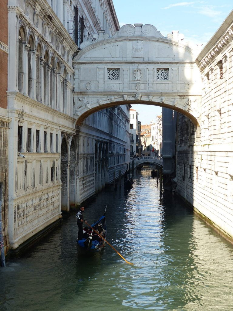 Palazzo Ducale & Bridge of Sighs, Venice, Italy