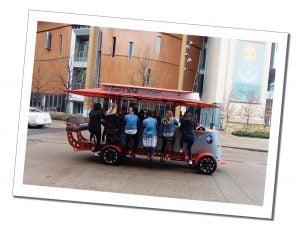 Bike Drink, mobile pub, Nashville