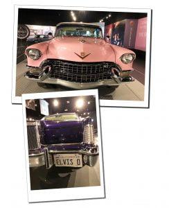 The Elvis cadillacs, Graceland, Memphis