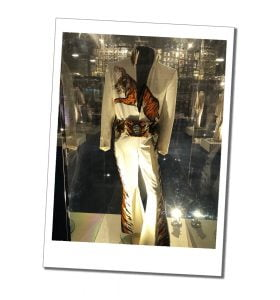 Elvis catsuit, emblazoned with Tiger motif, Graceland, Memphis