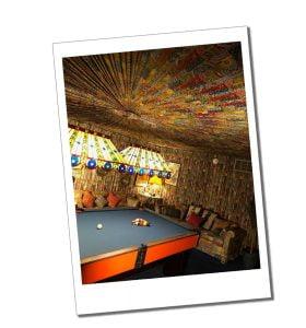 The Elvis Pool table, Graceland, Memphis