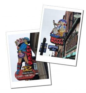 Honky Tonk Signs, Nashville
