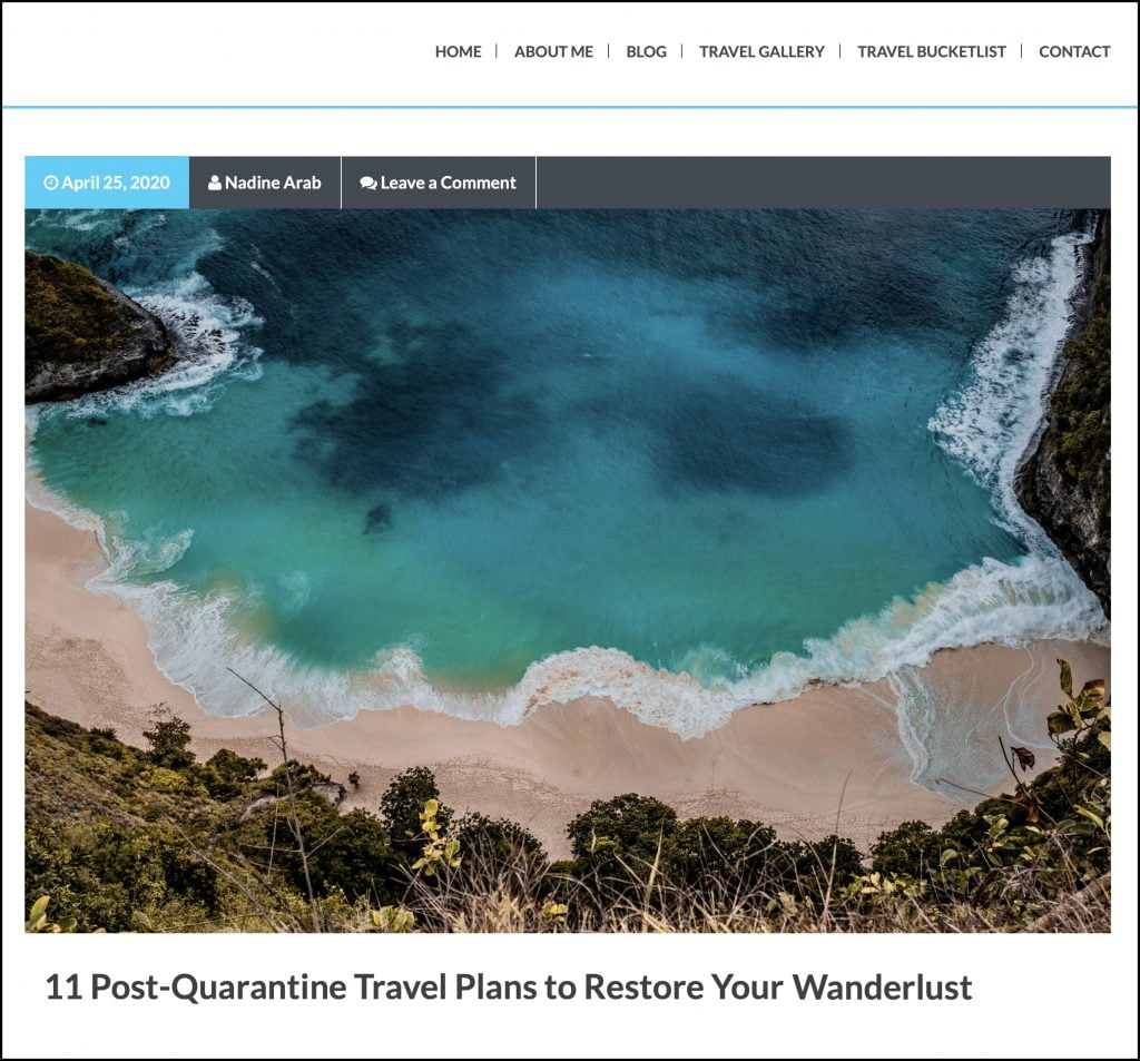 11 Post-Quarantine Travel Plans to Restore Your Wanderlust