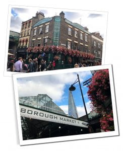 Borough Market and it's environs, London