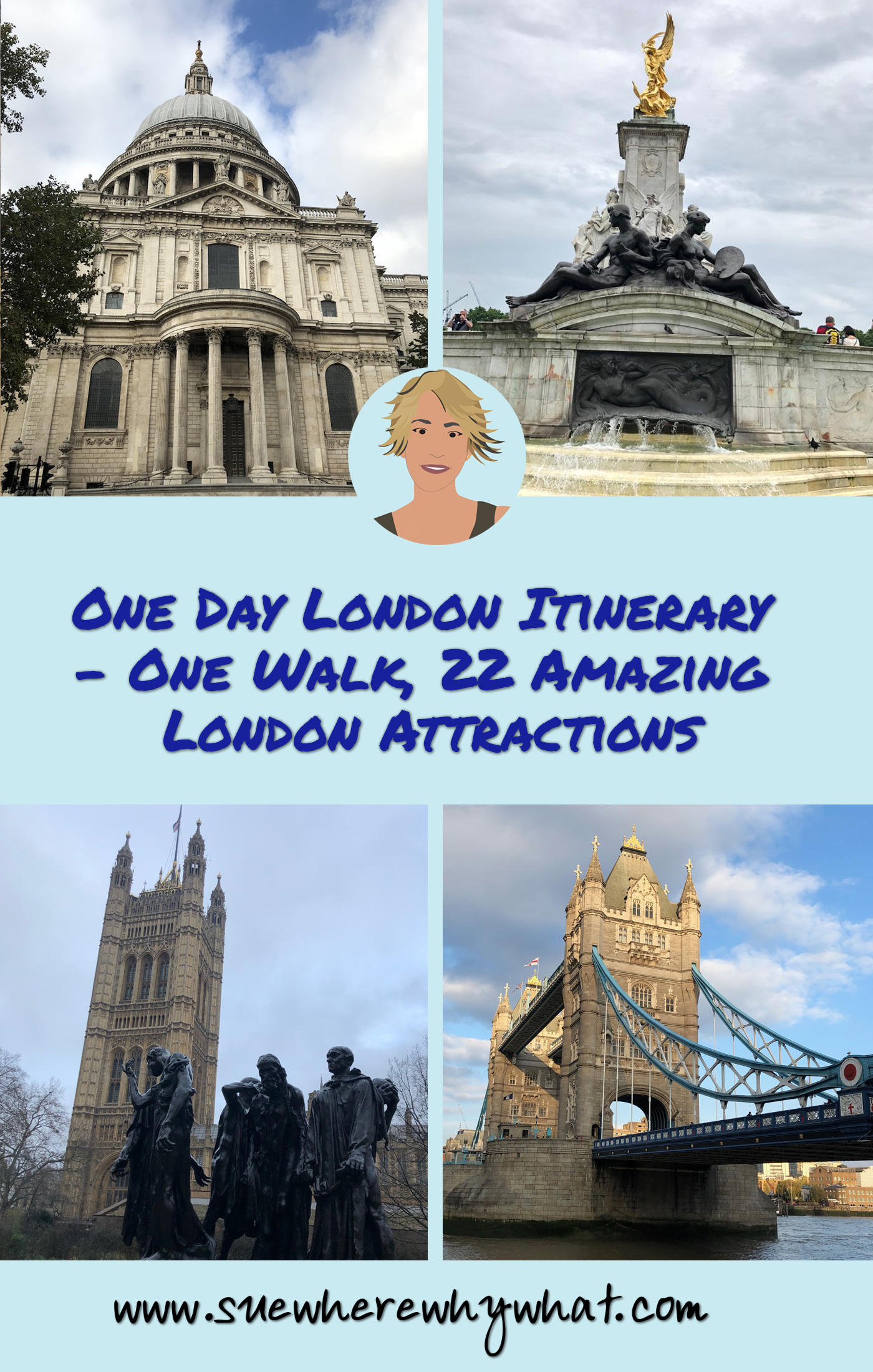 One Day London Itinerary – One Walk, 22 Amazing London Attractions