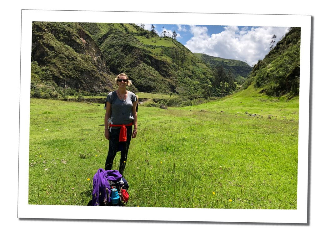 SWWW hiking the Quilotoa Loop - Top 16 Tips for Hiking as a Woman Alone