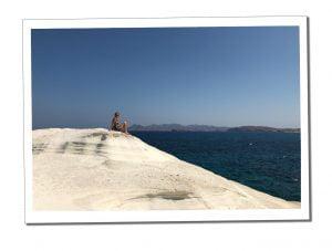 SWWW Sarakiniko White Rocks - Milos Boat Tours
