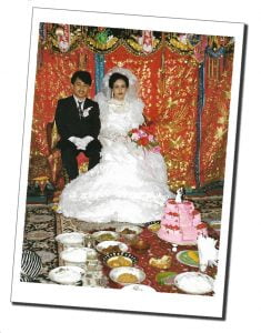 The bride and groom and wedding banquet, Indonesia - Crazy Travel Stories