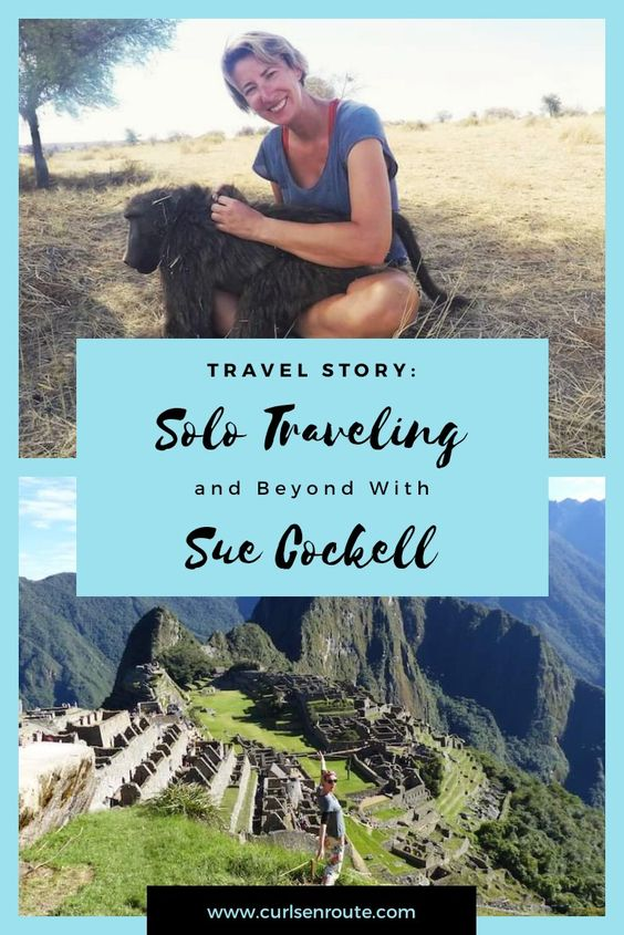 Curls-En-Route Solo Travelling and Beyond Sue Where Why What – A Guest Post