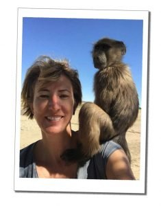 SWWW About Me Namibia with Baboon