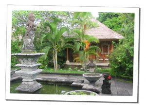 Tranquil Indonesia, garden - Crazy Travel Stories