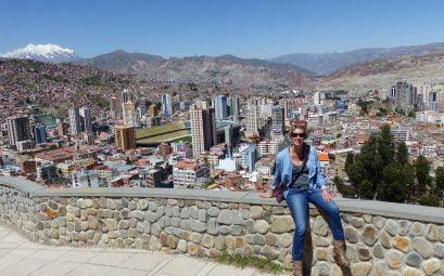 Suewherewhywhat at the View Mirador Killi, La Paz, Bolivia