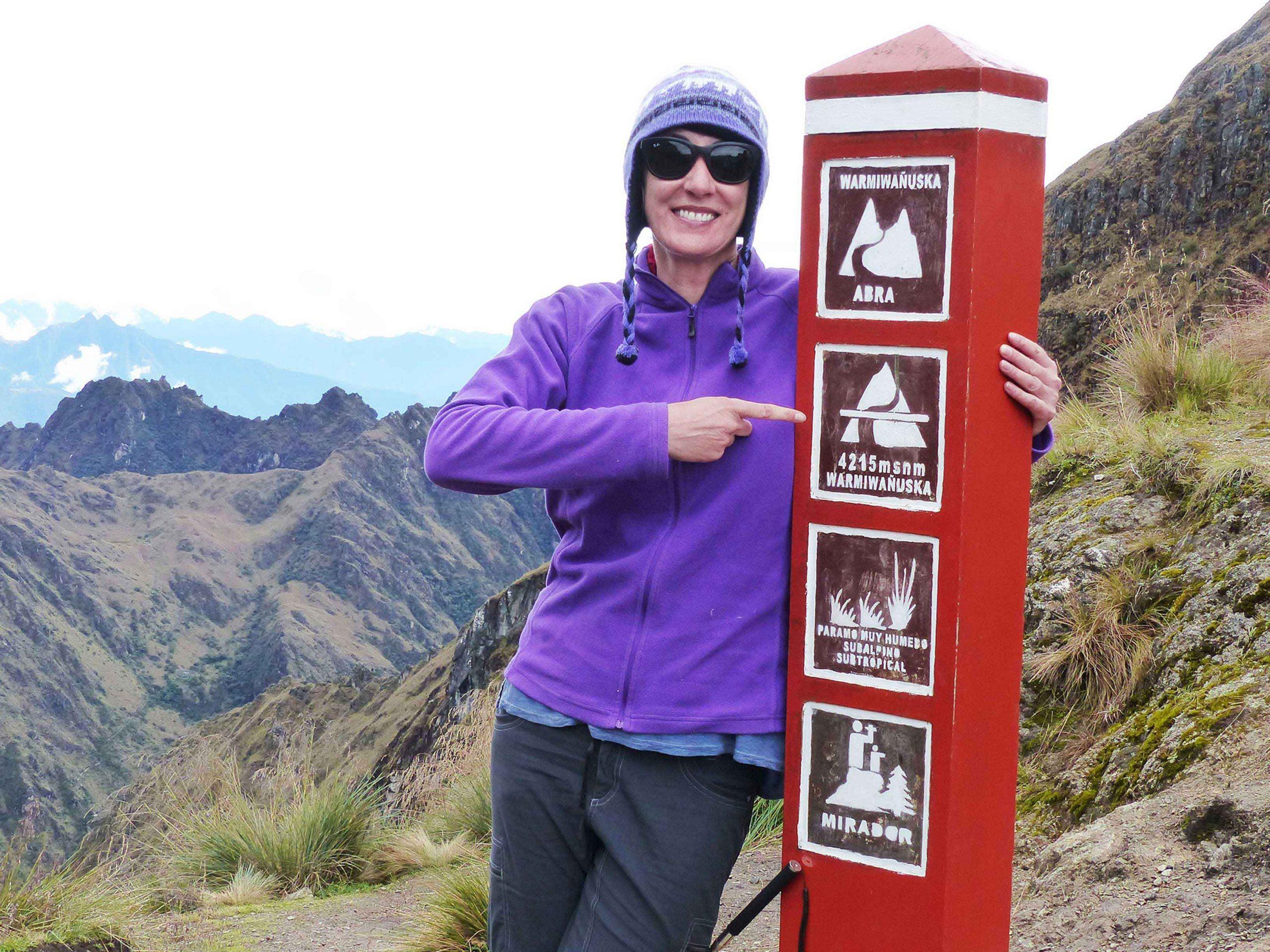 SueWhereWhyWhat Hiking the Inca Trail