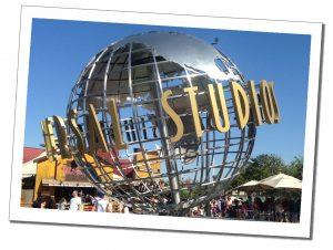 Universal Studios globe, Orlando, Florida