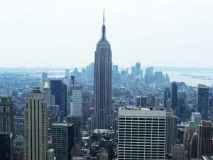 Empire State, New York Skyline