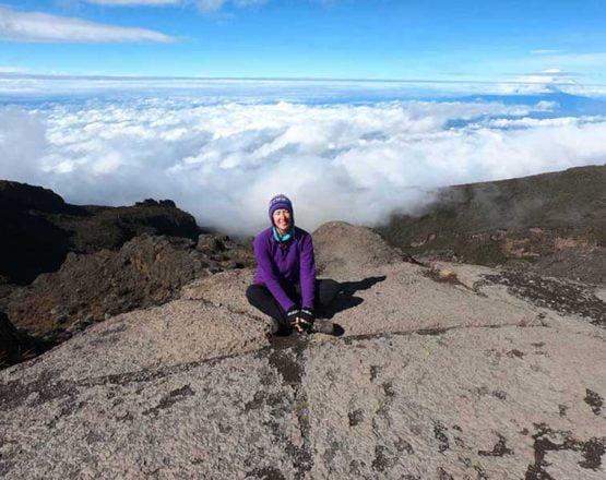 SWWW, on the Baranco Wall, Kilimanjaro, Africa
