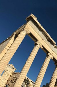 Acropolis, Athens - Island Hopping in the Cyclades – The Perfect Greek Island Itinerary