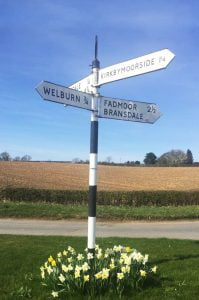 Kirbymoorside, Signpost
