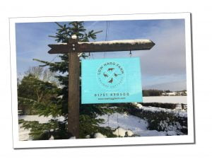 Low Hagg Farm Sign - How to Choose A Holiday Let