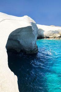 Milos Sarakiniko Rocks - Island Hopping in the Cyclades – The Perfect Greek Island Itinerary